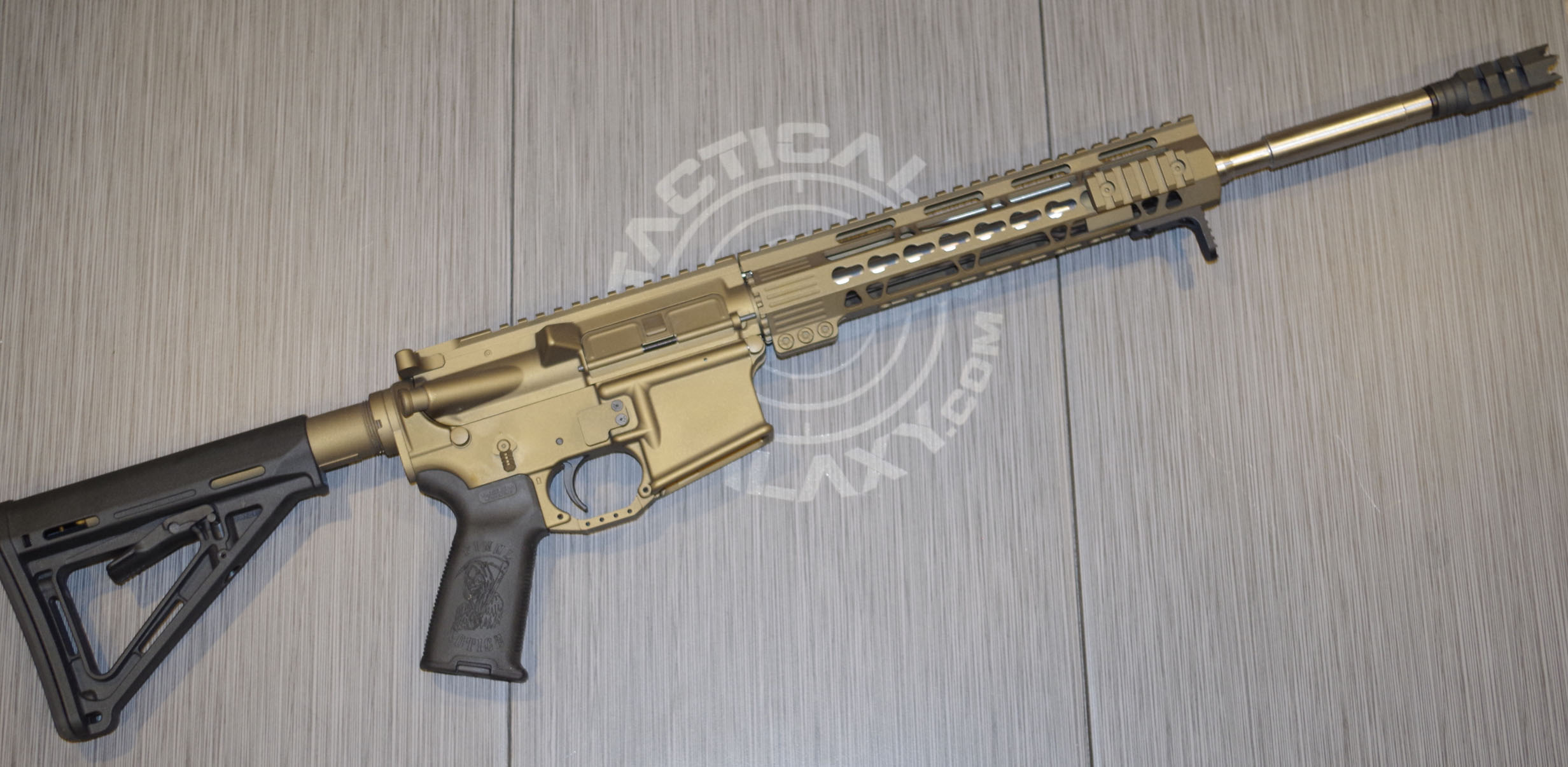 BURNT BRONZE CERAKOTE AR-15 PARTS
