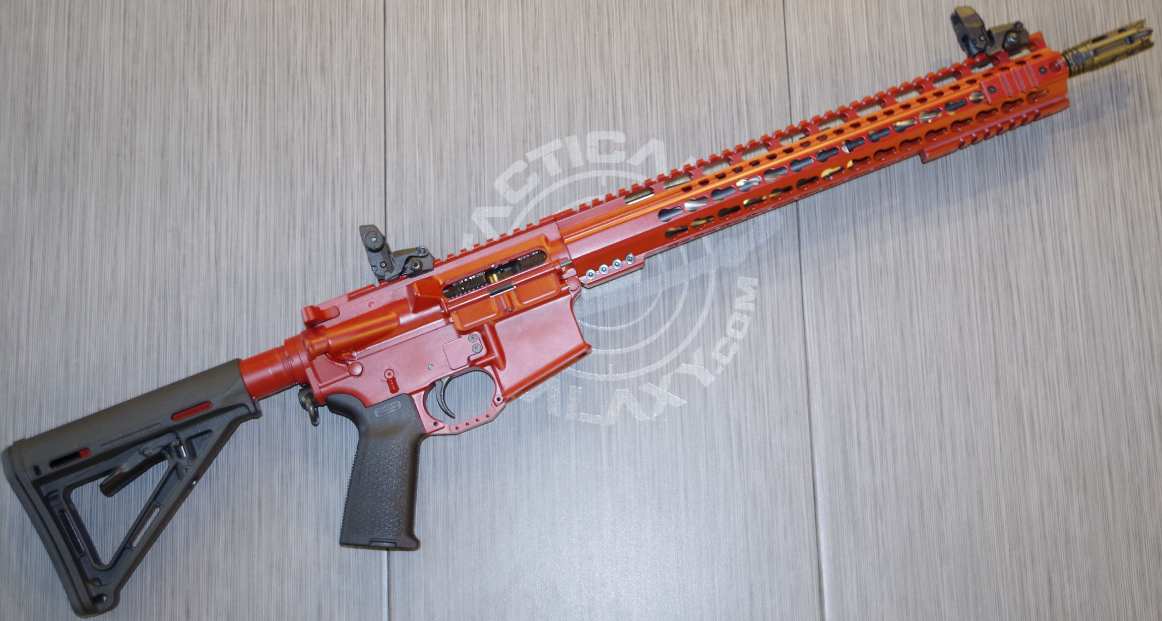CRIMSON RED CERAKOTE AR-15 PARTS