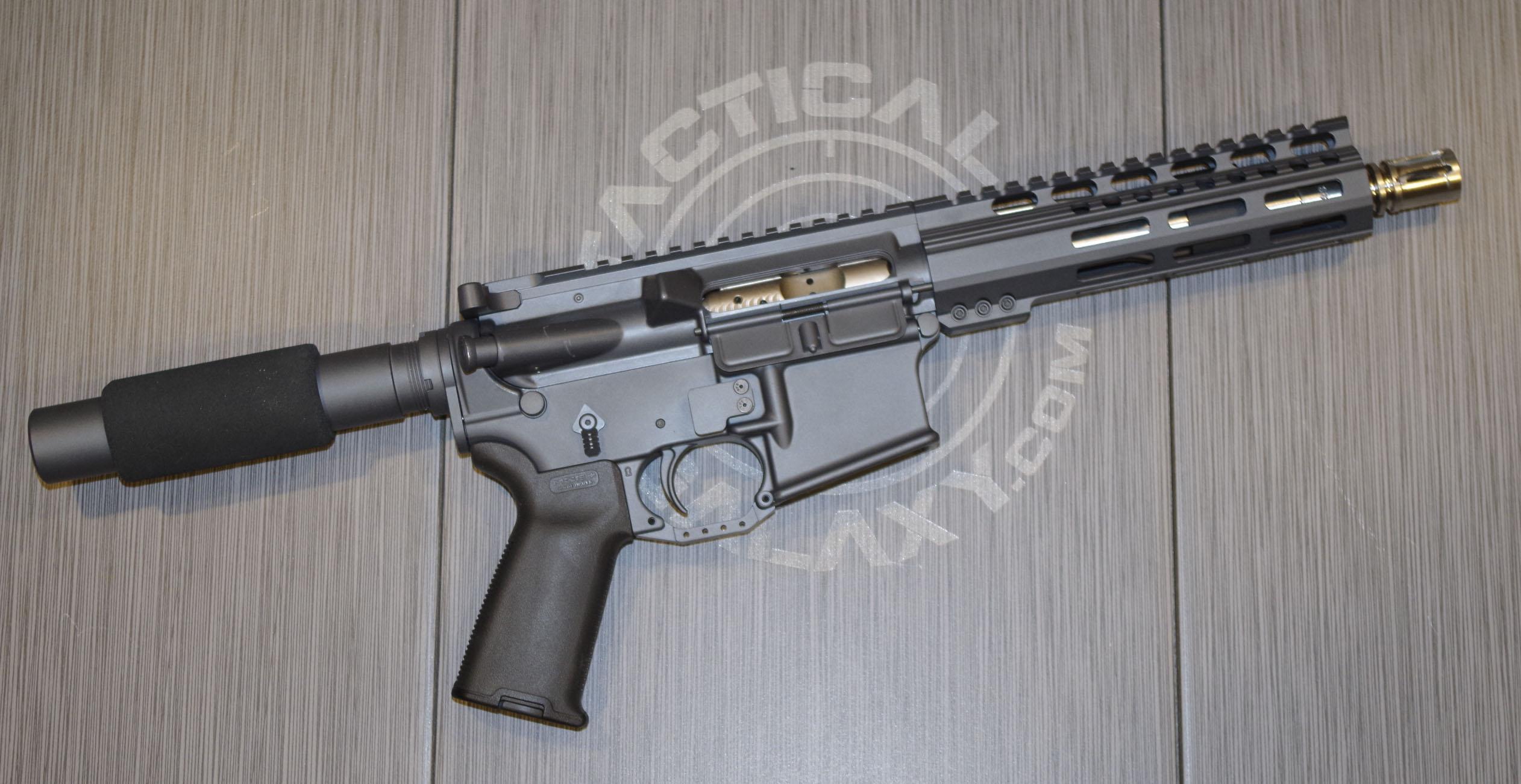 SNIPER GREY CERAKOTE AR-15 PARTS