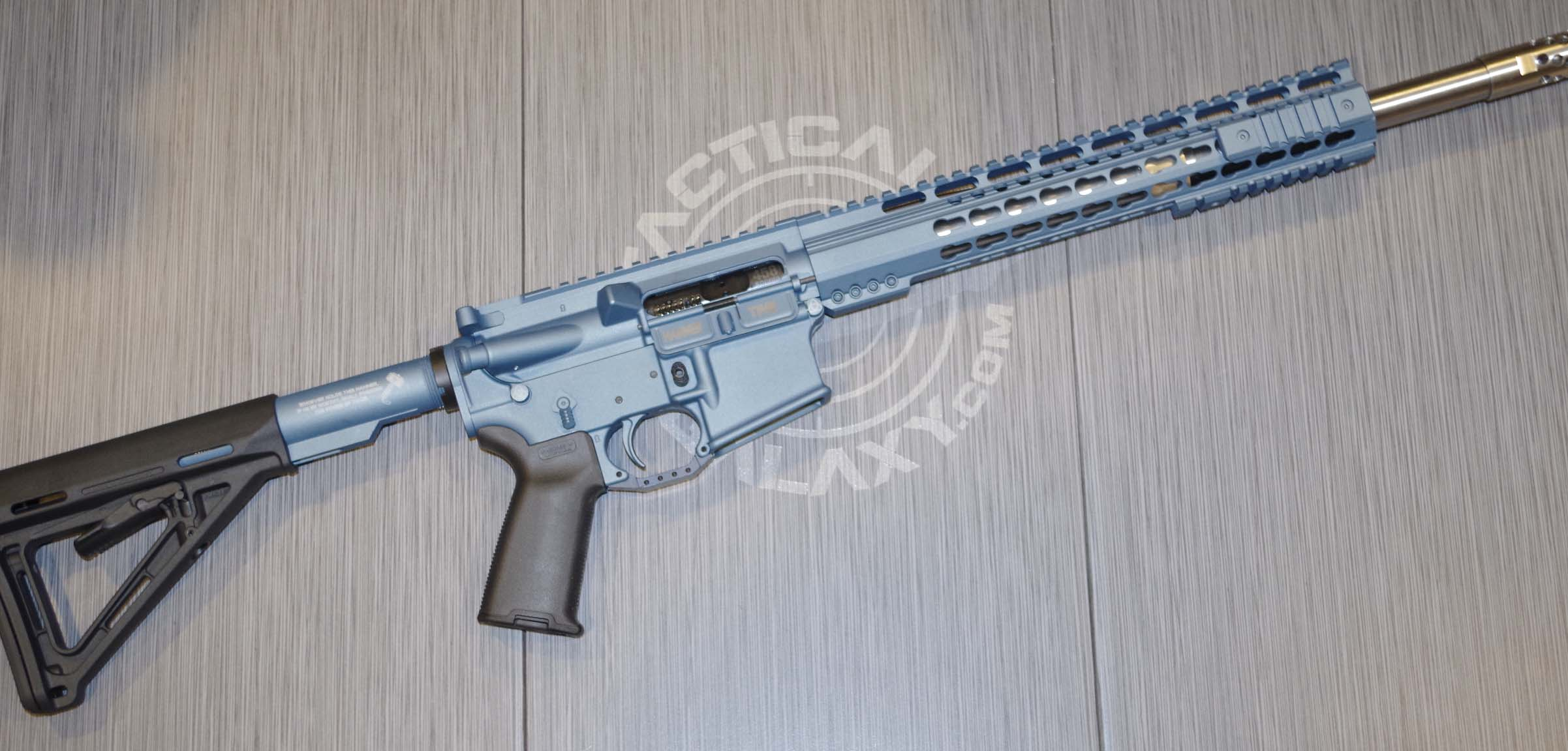 TITIANIUM BLUE CERAKOTE AR-15 PARTS