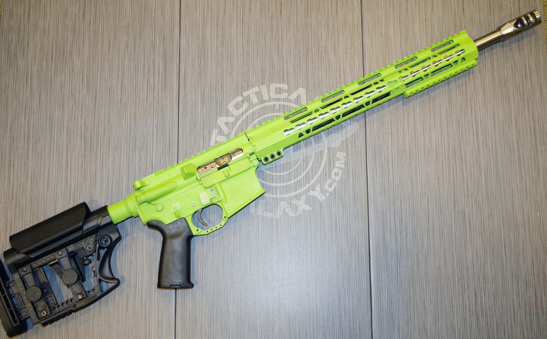 ZOMBIE GREEN CERAKOTE AR-15 PARTS