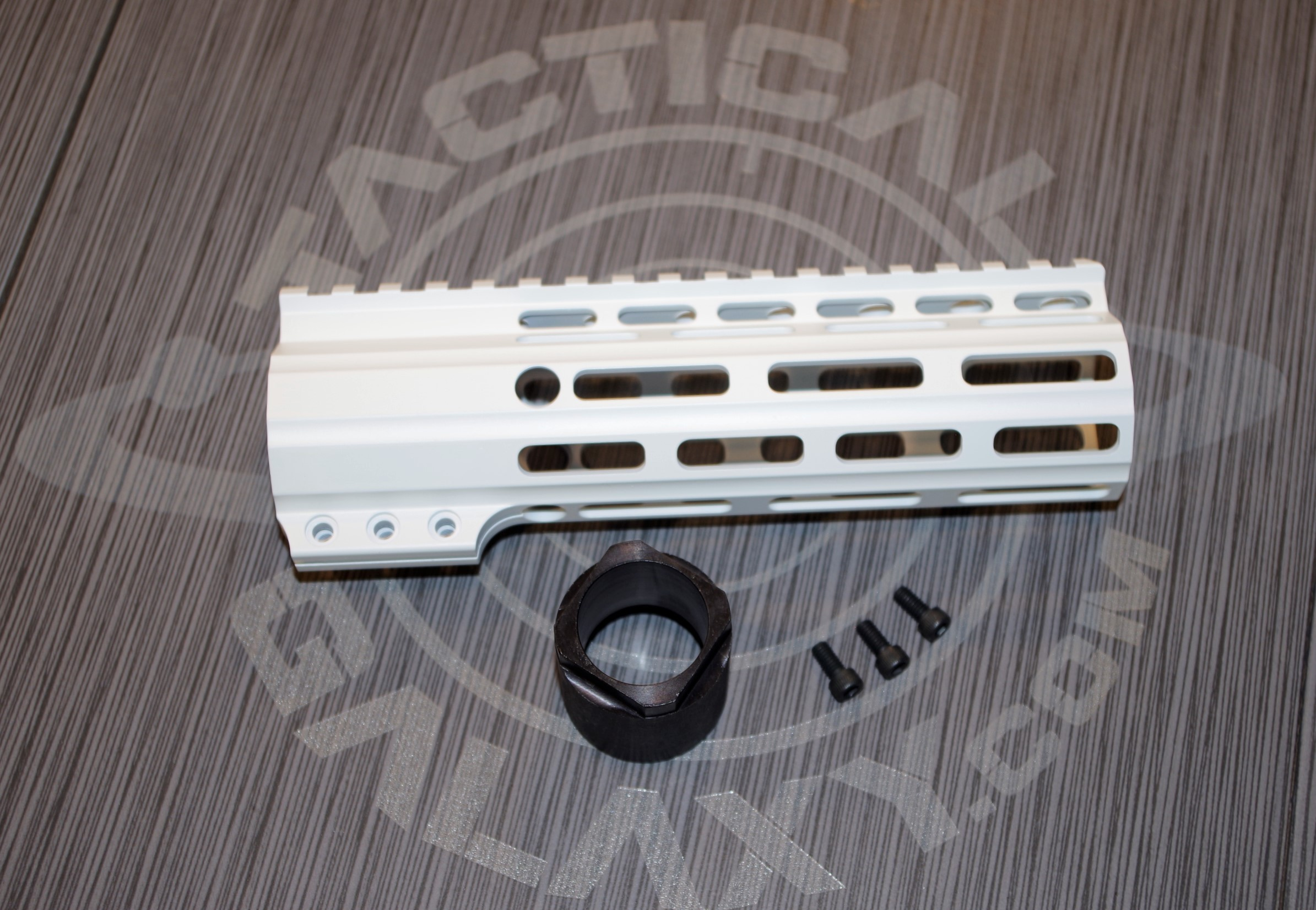 AR-15 White Cerakote 7
