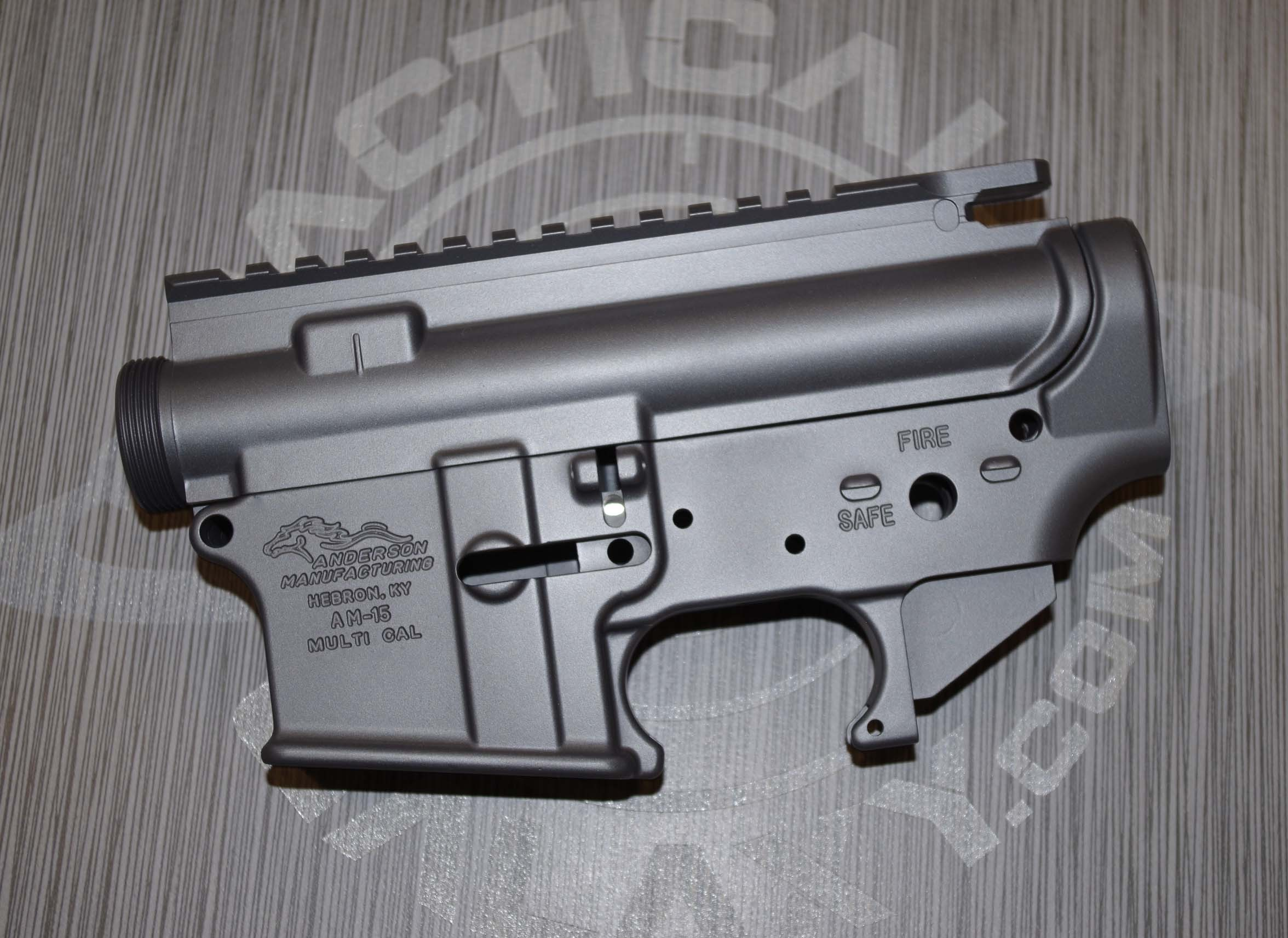 AR15 LOWER AND UPPER COMBO SETS ***FFL REQUIRED SNIPER GREY CERAKOTE