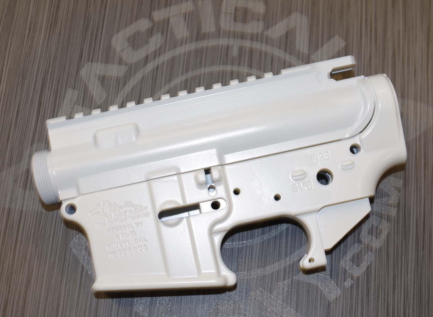 AR15 LOWER and UPPER COMBO SETS ***FFL REQUIRED WHITE CERAKOTE