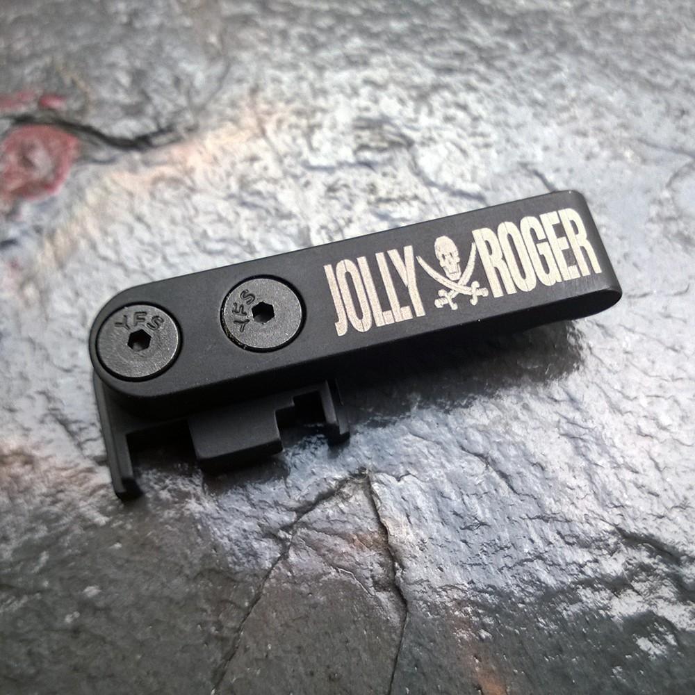 SLIDE RACKER/CHARGING HANDLE FOR GLOCK - Jolly Roger