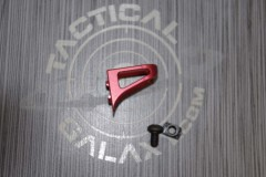 AR15 Red Anodized Low Profile Hand Stop