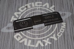 AR-15 SMILE WAIT FOR FLASH Ejection Port Dust Cover