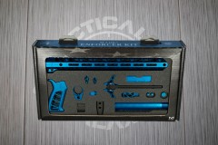 Blue Anodized Timber Creek Complete Enforcer Kit