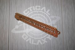 AR-15 Camo Brown Anodized ENFORCER 15 INCH HAND GUARD RAIL
