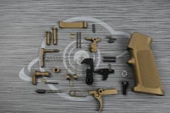 BURNT BRONZE Cerakote anderson LPK ( lower parts kit )