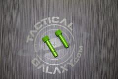 AR-15 Green ANODIZE AR Pins