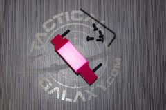 Pink Anodized Trigger Guard