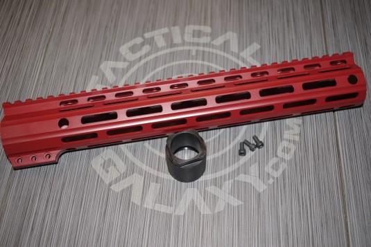 "Tactical Galaxy 13"" Crimson Red Handgaurd"