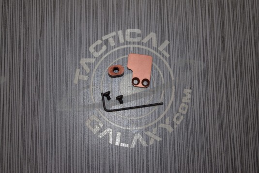 2 PC BUTTON FOR AR15 Camo Brown ANODIZED
