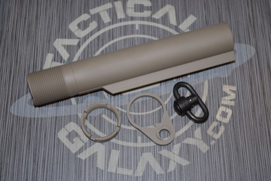 AR15 FDE cerakote 3 pc rear kit