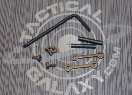 BURNT BRONZE CERAKOTE Anti Walk Hammer Trigger Pins