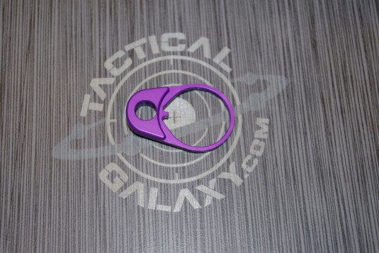 AR 15 Purple Anodized QD END PLATE COMBO