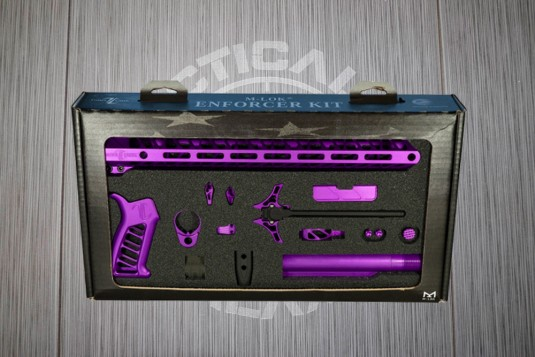 Blood Moon Purple Anodized Timber Creek Complete Enforcer Kit