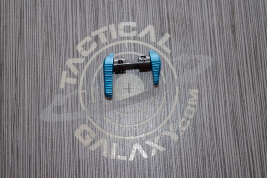 Timber creek Teal Anodized AMBI SAFETY for AR-15