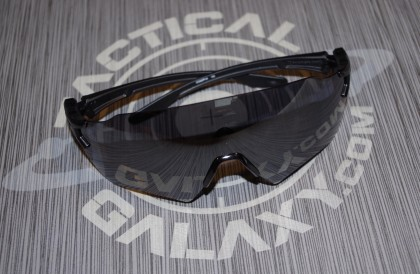 Oakley SI Tombstone Shooting Glasses red and Black Reap Frame/Black Iridium Lens