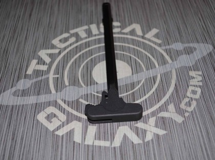 AR-15 BLANK BLACK CHARGING HANDLE