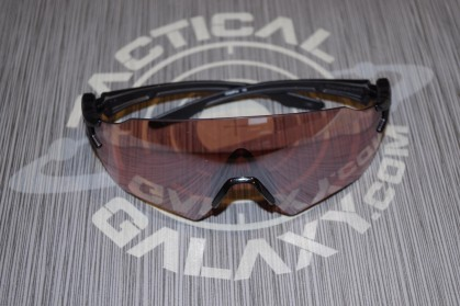 Oakley SI Tombstone Shooting Glasses Matte Black Reap Frame/Prizm TR22 Lens