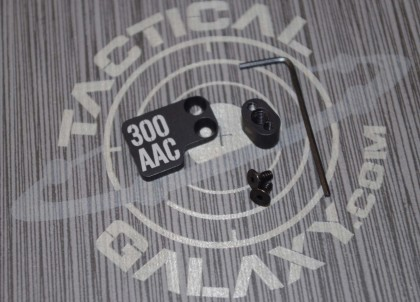 AR-15 2PC Oversized Magazine Extended Release Button - 300 AAC