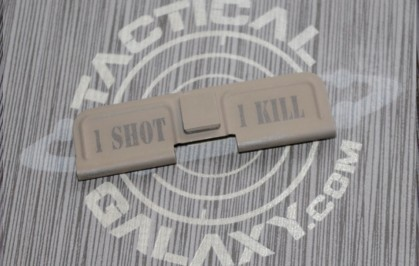 FDE CERAKOTE ONE SHOT ONE KILL EJECTION PORT DUST COVER