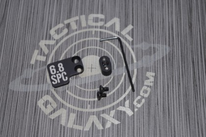 AR-15 2PC Oversized Magazine Extended Release Button - 6.8 SPC