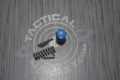 AR-15 BLUE ANODIZED STRIKE EXTENDED FORWARD ASSIST