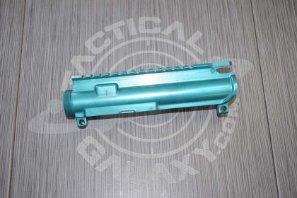 AR15 Teal Anodized upper for AR15