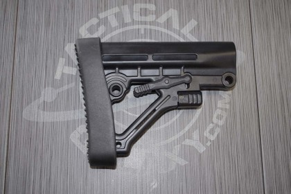 AR-15 Trinity Force Omega Black ButtStock
