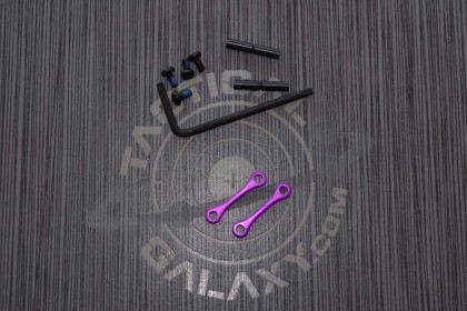AR15 / AR-10 Blood Moon Purple Anodized Anti Walk Hammer Trigger Pins
