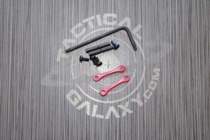 AR15 / AR-10 Red Anodized Anti Walk Hammer Trigger Pins