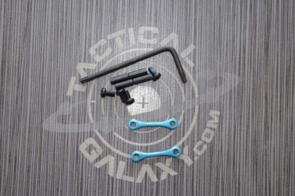 AR15 / AR-10 Teal Anodized Anti Walk Hammer Trigger Pins