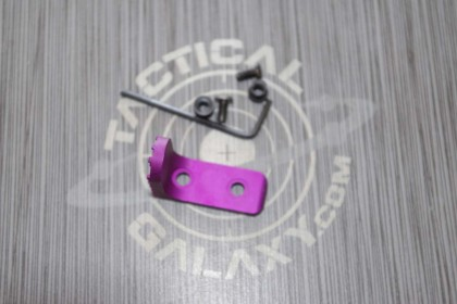 AR15 BLOOD MOON PURPLE BILLET ANODIZED KEYMOD HAND STOP