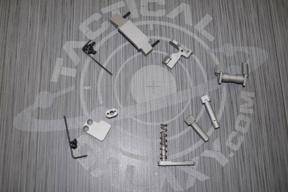AR15 SAVAGE STAINLESS CERAKOTE 6 PIECE ENHANCED LOWER KIT