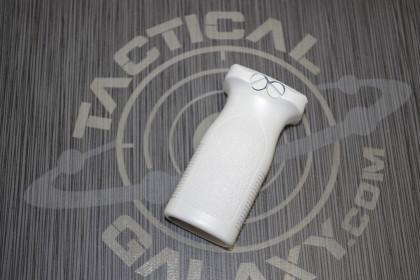 White Cerakote AR15 Front Grip