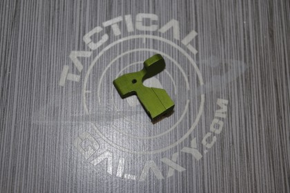 AR15 ENHANCED BOLT CATCH RELEASE LEVER GREEN ANODIZED