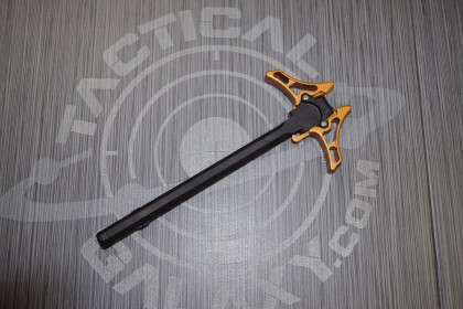 AR15 ENFORCER AMBIDEXTROUS CHARGING HANDLE ORANGE ANODIZED