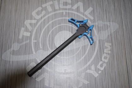 AR15 ENFORCER AMBIDEXTROUS CHARGING HANDLE BLUE ANODIZED