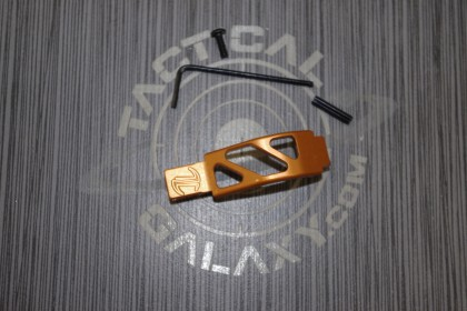 AR15 Orange Anodized Enhanced Trigger Guard