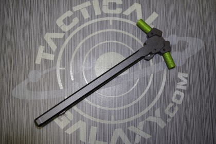 AR15 Ambidextrous Charging Handle with Green Anodized Latches
