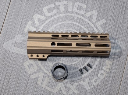 "Tactical Galaxy 7"" Burnt Bronze Handguard"