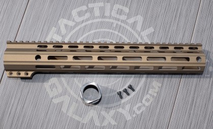 "Tactical Galaxy 13"" Burnt Bronze Handguard"