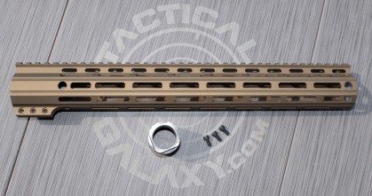 "Tactical Galaxy 15"" Burnt Bronze Handguard"