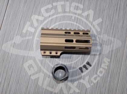 "Tactical Galaxy 4"" Burnt Bronze Handguard"