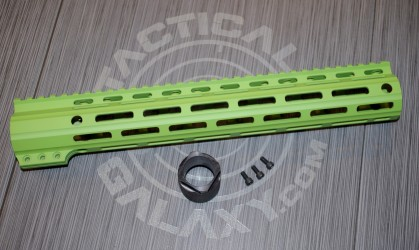 "Tactical Galaxy 13"" Zombie Green Handgaurd"