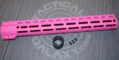 "Tactical Galaxy 15"" Pink Handgaurd"