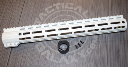 "Tactical Galaxy 15"" White Handgaurd"